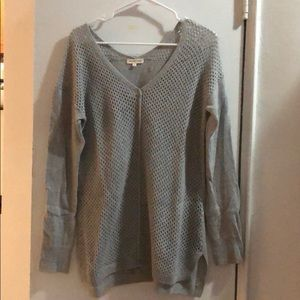 Rebecca Taylor Gray Sweater